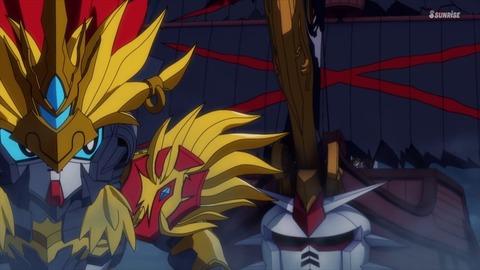 SDガンダムワールドヒーローズ 第3話 感想 ネタバレ 051