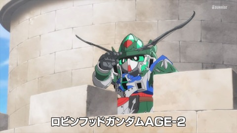 SDガンダムワールドヒーローズ 第8話 感想 ネタバレ 139