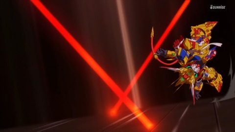 SDガンダムワールドヒーローズ 第9話 感想 ネタバレ 20