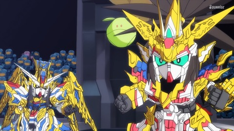 SDガンダムワールドヒーローズ 第3話 感想 ネタバレ 0732