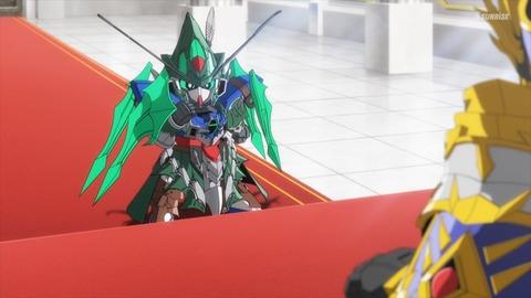 SDガンダムワールドヒーローズ 第8話 感想 ネタバレ 192