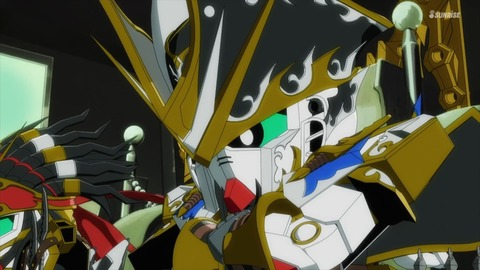 SDガンダムワールドヒーローズ 第3話 感想 ネタバレ 1161