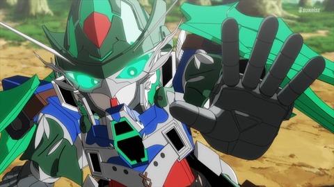 SDガンダムワールドヒーローズ 第8話 感想 ネタバレ 587