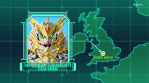 SDガンダムワールドヒーローズ 第2話 感想 ネタバレ 259