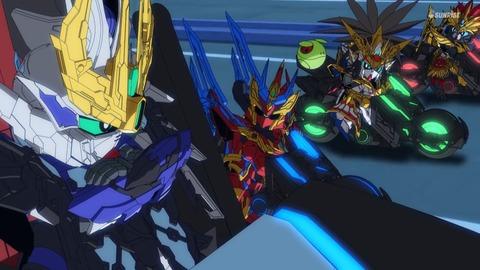 SDガンダムワールドヒーローズ 第13話 感想 625