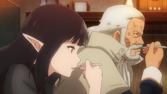 """『異世界食堂 7話 感想』""""孤独""""カレーが繋ぐクロとねこや!"""