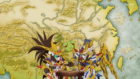 SDガンダムワールドヒーローズ 第11話 感想 360