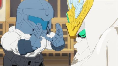 SDガンダムワールドヒーローズ 第6話 感想 ネタバレ 148