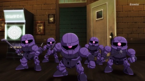 SDガンダムワールドヒーローズ 第5話 感想 ネタバレ 537