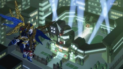 SDガンダムワールドヒーローズ 第9話 感想 ネタバレ 408