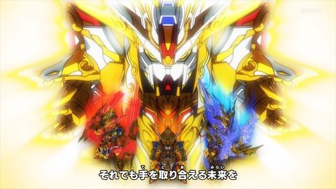 SDガンダムワールドヒーローズ 第1話 感想 ネタバレ 116