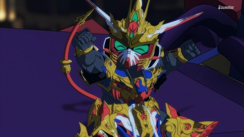 SDガンダムワールドヒーローズ 第11話 感想 0668