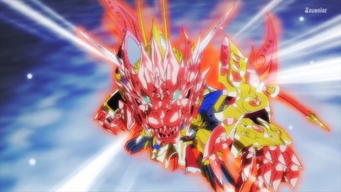 SDガンダムワールドヒーローズ 第12話 感想 360