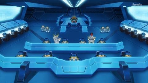 SDガンダムワールドヒーローズ 第6話 感想 ネタバレ 55