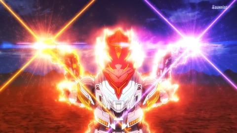 SDガンダムワールドヒーローズ 第13話 感想 0708