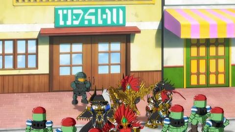 SDガンダムワールドヒーローズ 第22話 感想 376