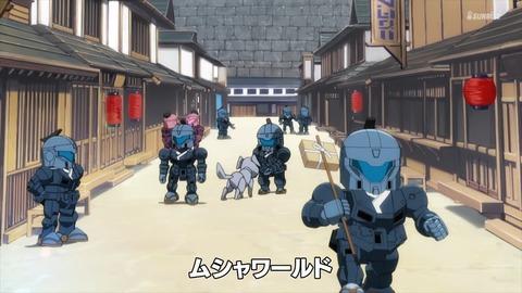 SDガンダムワールドヒーローズ 第6話 感想 ネタバレ 17