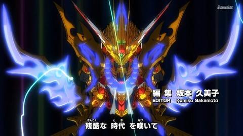 SDガンダムワールドヒーローズ 第1話 感想 ネタバレ 111