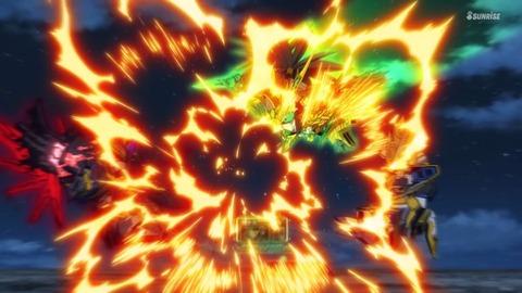 SDガンダムワールドヒーローズ 第16話 感想 492