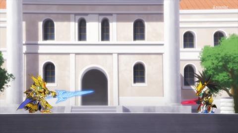 SDガンダムワールドヒーローズ 第17話 感想 459