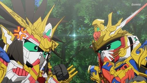 SDガンダムワールドヒーローズ 第8話 感想 ネタバレ 249