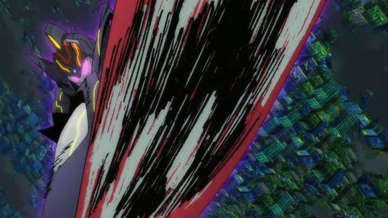 共闘ダブルグリッドマン! キャリバーさんとアンチ君もコラボ、にくい事をするじゃん! 怪獣がアカネの心なら、大元であるアカネ自身が怪獣にしてしまえって?