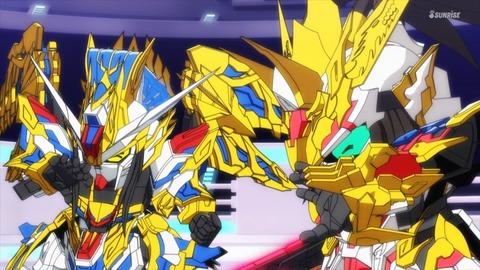 SDガンダムワールドヒーローズ 第3話 感想 ネタバレ 1104