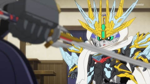 SDガンダムワールドヒーローズ 第6話 感想 ネタバレ 235