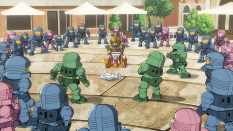 SDガンダムワールドヒーローズ 第3話 感想 ネタバレ 444