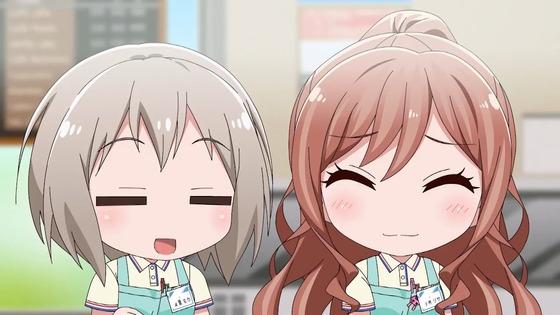 『BanG Dream! ガルパピコ 第15話 感想』モカと巴のキラキラバイト回!