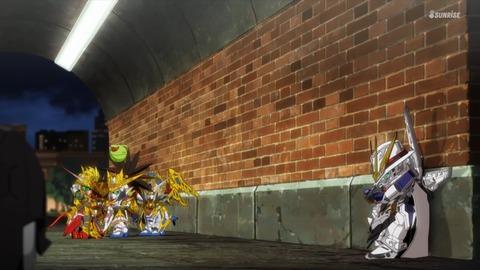SDガンダムワールドヒーローズ 第10話 感想 ネタバレ 226