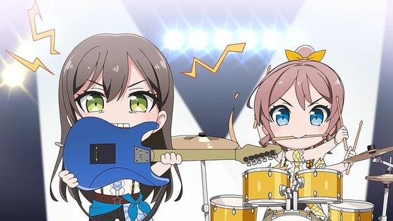 『BanG Dream! ガルパピコ 第1話 感想』おたえ歯ギター似合いすぎ!