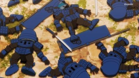 SDガンダムワールドヒーローズ 第6話 感想 ネタバレ 377