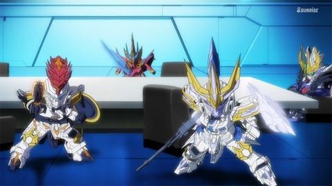 SDガンダムワールドヒーローズ 第12話 感想 045