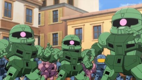 SDガンダムワールドヒーローズ 第3話 感想 ネタバレ 488