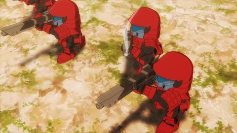 SDガンダムワールドヒーローズ 第6話 感想 ネタバレ 358