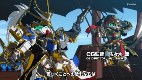 SDガンダムワールドヒーローズ 第1話 感想 ネタバレ 084