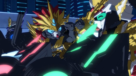 SDガンダムワールドヒーローズ 第12話 感想 06