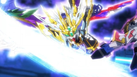 SDガンダムワールドヒーローズ 第15話 感想 756