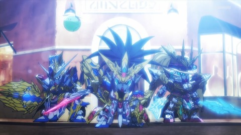 SDガンダムワールドヒーローズ 第11話 感想 0706