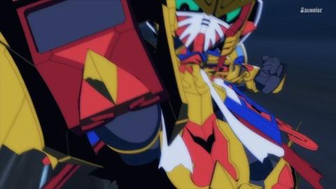 SDガンダムワールドヒーローズ 第2話 感想 ネタバレ 500