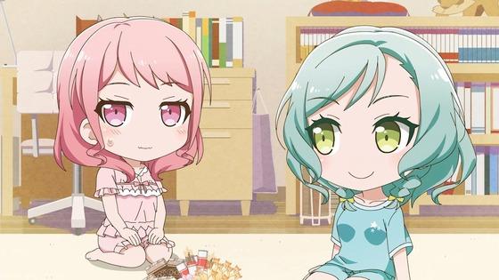 『BanG Dream! ガルパピコ 第23話 感想』Pastel*Palettesパジャマパーティー?!