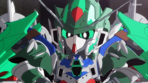 SDガンダムワールドヒーローズ 第17話 感想 095