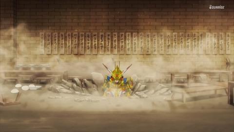 SDガンダムワールドヒーローズ 第2話 感想 ネタバレ 415