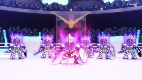SDガンダムワールドヒーローズ 第3話 感想 ネタバレ 0913