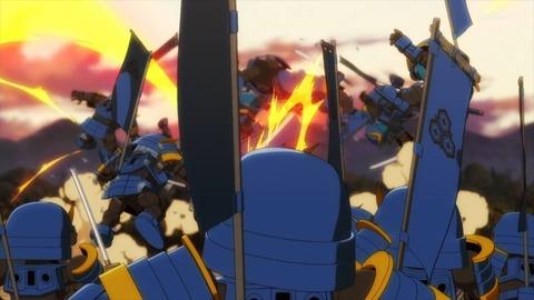 SDガンダムワールドヒーローズ 第6話 感想 ネタバレ 436