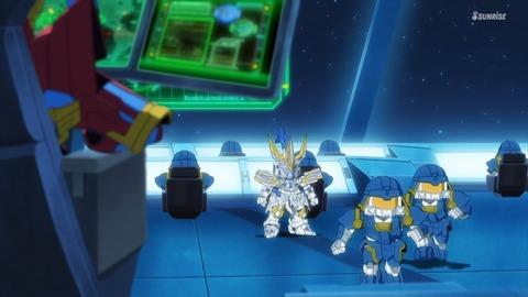 SDガンダムワールドヒーローズ 第6話 感想 ネタバレ 64