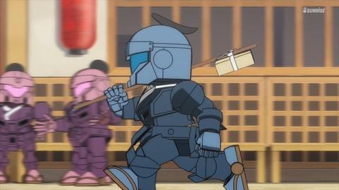 SDガンダムワールドヒーローズ 第6話 感想 ネタバレ 20