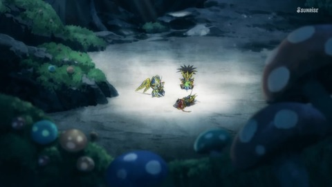 SDガンダムワールドヒーローズ 第8話 感想 ネタバレ 710