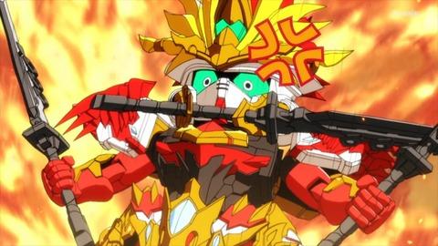 SDガンダムワールドヒーローズ 第2話 感想 ネタバレ 35